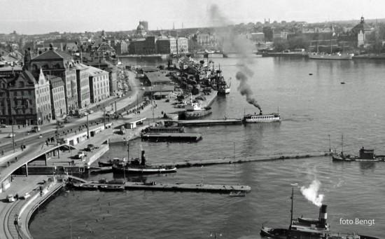 Skeppsbron 1958