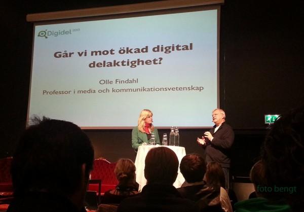 Olle Findahl på Digidel 22 okt 2012.